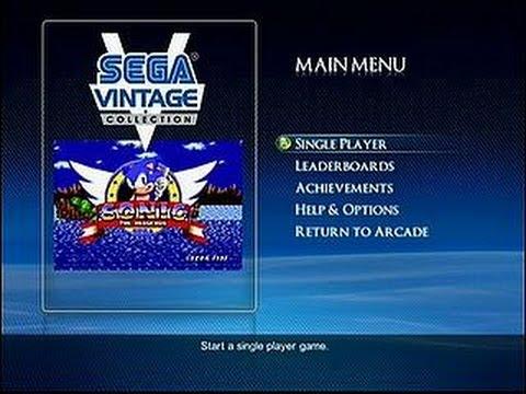 Sonic The Hedgehog Sur Ps3 Sega Vintage Collection Youtube