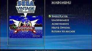 Sonic The Hedgehog Sur Ps3 (sega Vintage Collection)