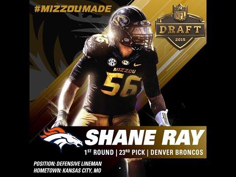MizzouMade Shane Ray: NFL Draft