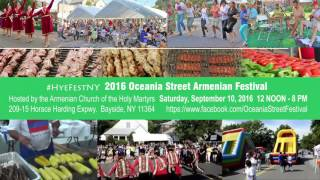 2016 Oceania Street Festival hosted by the Armenian Church of the Holy Martyrs