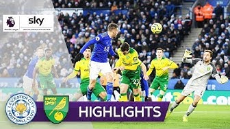 Torwart-Eigentor und Pukki Treffer | Leicester City - Norwich City 1:1 | Highlights - Premier League