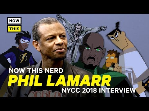 Phil LaMarr Interview   NYCC 2018   NowThis Nerd