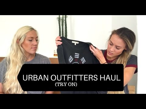 Urban Outfitters HAUL 2016 (TRY ON) - Wardrobe ESSENTIALS
