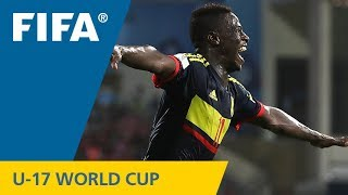 TOP GOALS: Juan Penaloza (COL) v USA - FIFA U-17 World Cup 2017