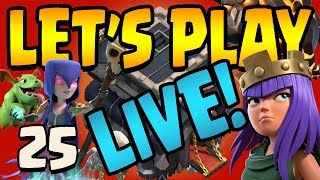 HOW TO Lv15 QUEENWALK! Boston Special LIVE! Let's Play TH9 ep25 | Clash of Clans
