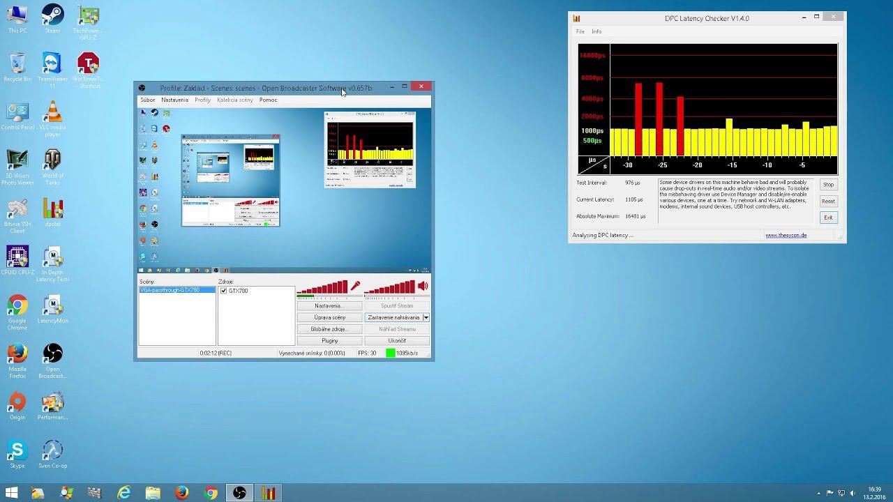 Qemu+libvirt KVM VGA Passthrough DPC latency - YouTube