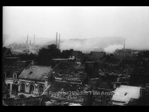Historic Archival Stock Footage WWII - LeHavre, Boulogne Fall; Calais is stormed