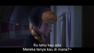 Repeat youtube video Nak Tak Bina Orang Salji dengan lirik - Frozen HD