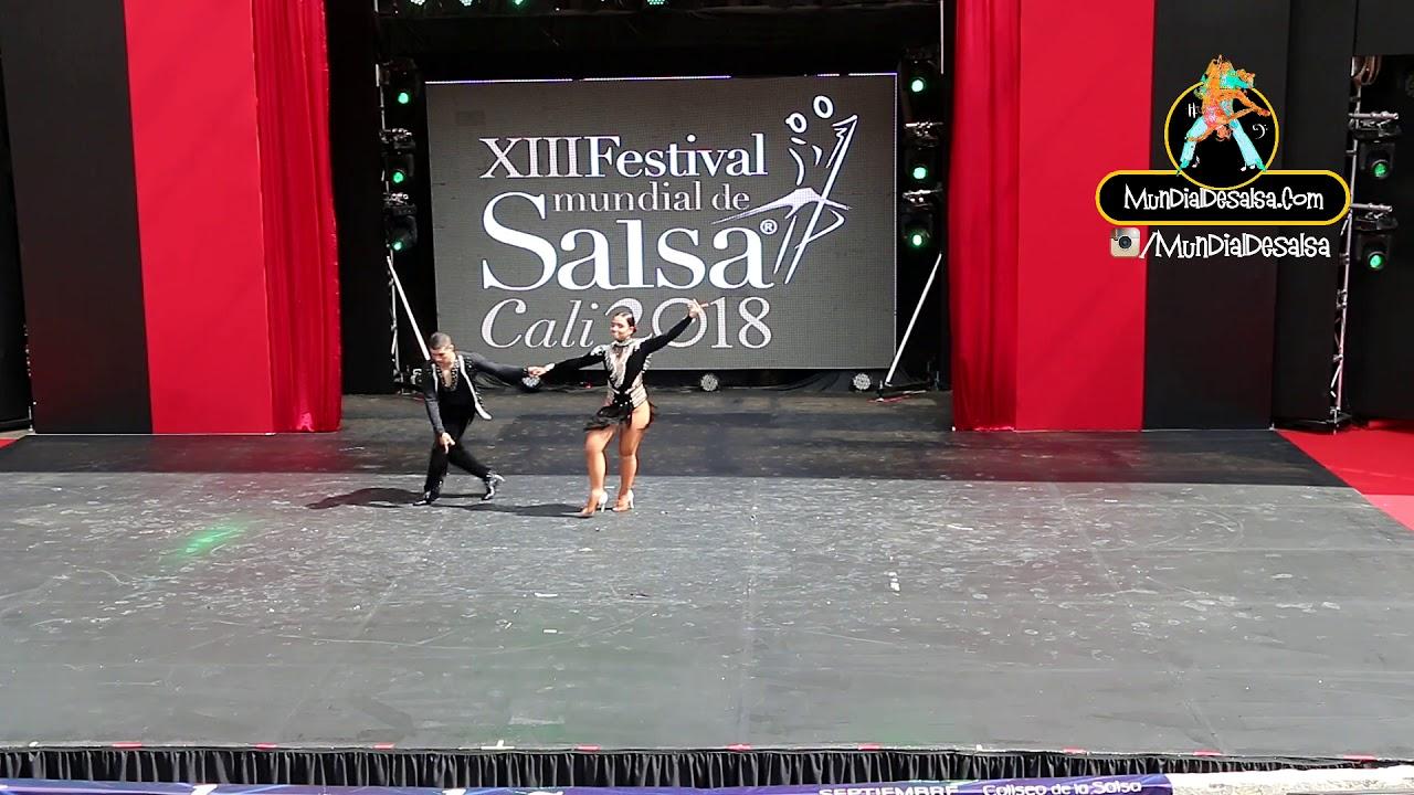 Jorge Eliecer García y Melanny Galeano - On1 XIII Festival Mundialdesalsa Cali 2018