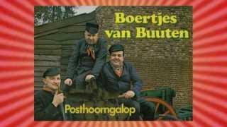 De Boertjes van Buuten -  Posthoorngalop - vinyl  Rip LP 30420101 Kroon serie.