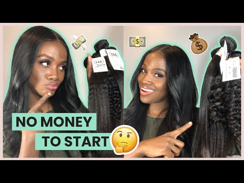 Start Your Hair/ Wig Business With Little to NO MONEY In 2020