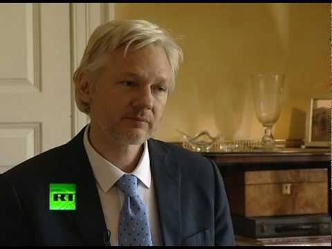 JULIAN ASSANGE RT EXCLUSIVE - FULL INTERVIEW (PART 1 of 2)