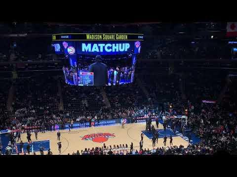 New York Knicks 2018-2019 Intro (vs. Atlanta Hawks)
