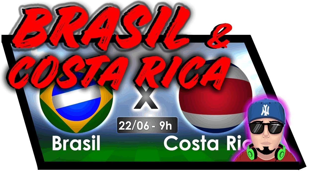 Brasil x Costa Rica (PREVISÃO) - Copa do Mundo 2018 - PES 2017 - EP02