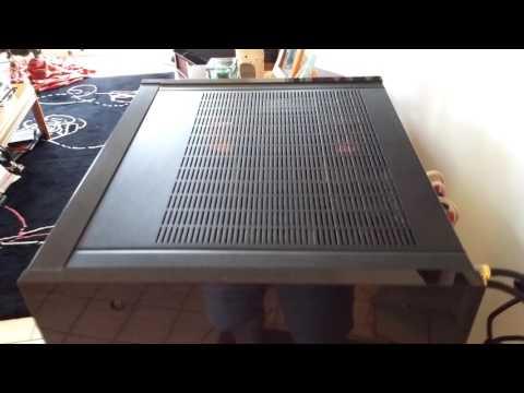 Onkyo M-504 Amplifier demo112916
