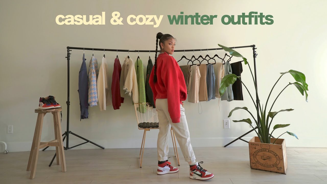 [VIDEO] - CASUAL & COZY WINTER OUTFITS 6