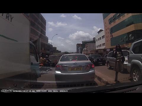 Downtown Kampala, Uganda To Entebbe International Airport (EBB)