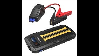 (EPISODE 1,736) AMAZON UNBOXING: RAVPower Car Jump Starter RAVPower 300A Peak @amazon