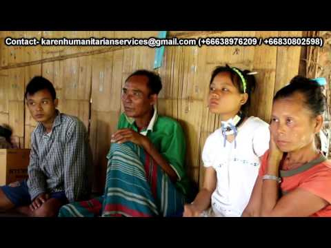 Karen Humanitarian Services volunteering team report August 2016