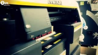 видео Печать на УФ-принтере Mimaki UJF-3042 HG