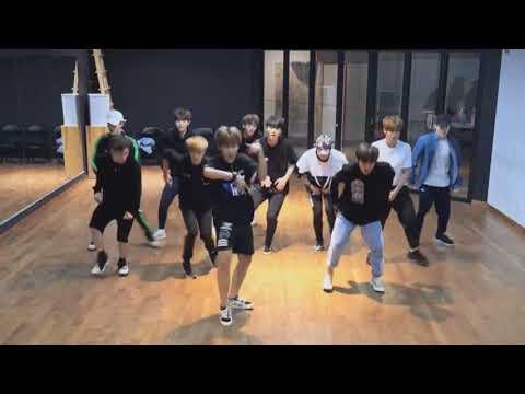 WANNA ONE Energetic DANCE MIRROR VIDEO
