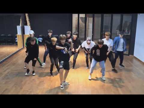 "WANNA ONE ""Energetic"" DANCE MIRROR VIDEO"
