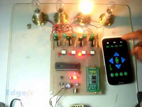 Android Based Home Automation System Final Year Engineering