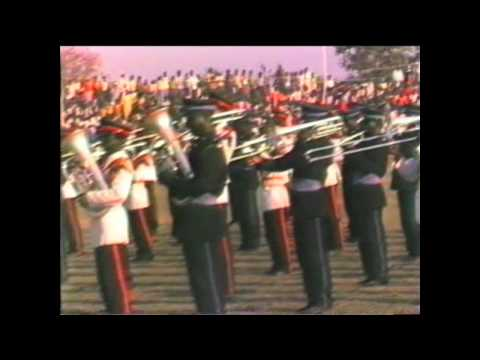 1986 Zambia   Lusaka, Agricultural Show, Military Music, National Anthem of Zambia
