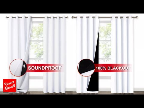 Blackout & Soundproof Curtains for Home Theater or Studio | Nicetown