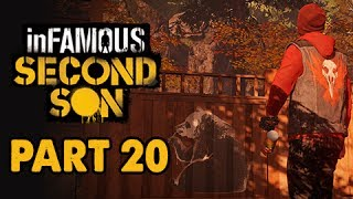 inFamous: Second Son Evil Walkthrough Part 20 - Stencil Art -  Evil & Expert Playthrough