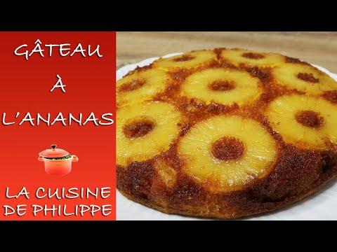 gâteau-à-l'ananas