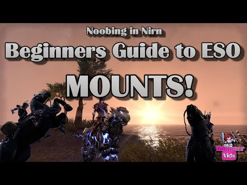 Beginners Guide To ESO: Mounts
