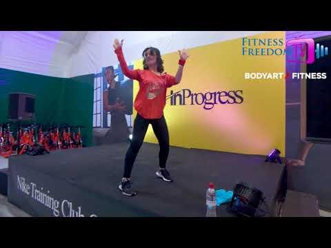 Функциональный тренинг с раскладкой от Екатерины Шарифовой Nike 2019 - Fitness Freedom TV