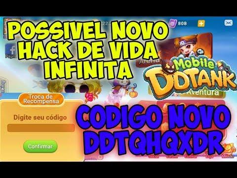 DDTANK MOBILE - POSSIVEL NOVO HACK DE VIDA INFINITA + CODIGO NOVO!