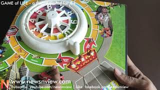 GAME OF LIFE board game for children | Hasbro Game of LIFE | Kids Indoor Game