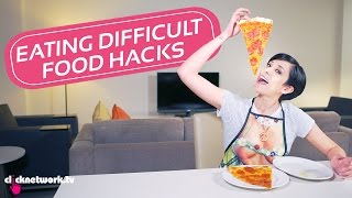 Eating Difficult Food Hacks - Hack It: EP40