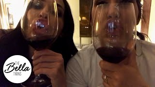 WINE TRICKS after an exhausting day in New York City!