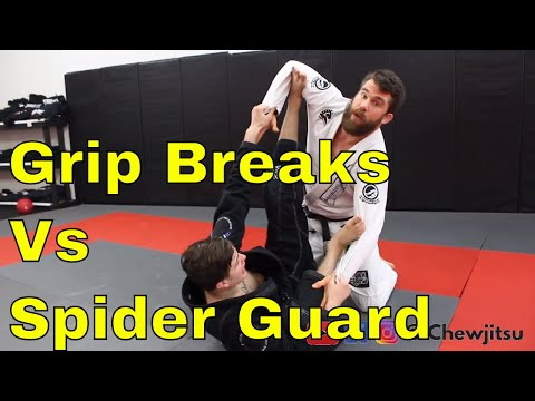 3 Counters to the Spider Guard in BJJ (# 3 is Slick)