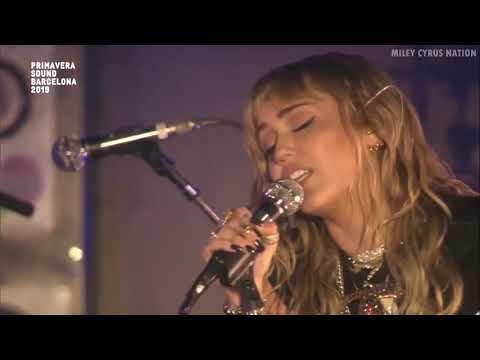 Miley Cyrus - Malibu (Live At Primavera Sound Festival) [HD]