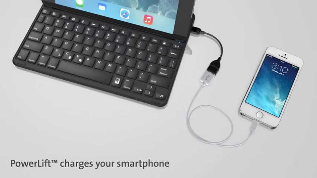 Kensington toont KeyFolio Thin X3 Plus case voor iPad Air 2