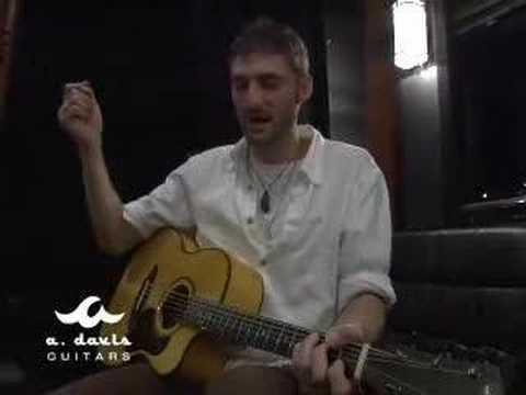 Crosby Loggins talks A. Davis Guitars...