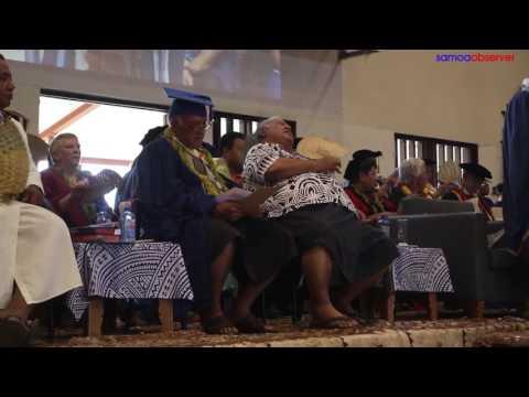 First Doctorate honours at N.U.S