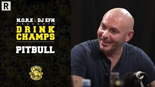 Pitbull On His Music Journey, Uncle Luke's Impact, Working With Lil Jon And More | Drink Champs