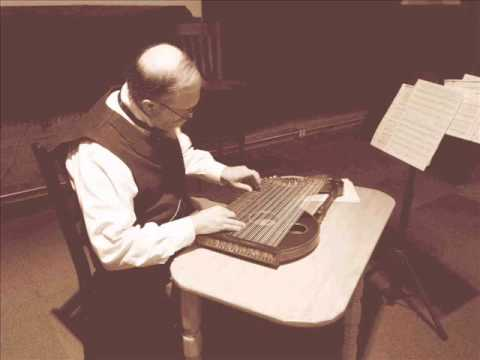 "John Roeder on The Historic Franz Schwarzer Harp Zither Playing ""The Holy City."""