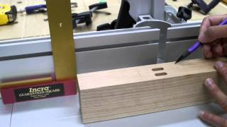 Shaker Style Media Cabinet, Part Iii (frame And Panel Joinery With The Festool Cms And Domino)