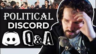 Antifa, Alt-right & More - Destiny's Q&A on a political Discord