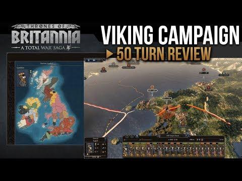 Total War Saga: Thrones of Britannia - Viking Campaign (50 Turns Review)