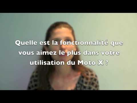 Entrevue avec Odile Guinot - Lancement du Motorola Moto X au Canada - Aout 2013