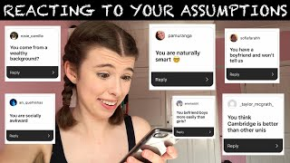 REACTING TO YOUR ASSUMPTIONS Video