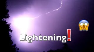 Lightening!